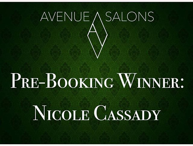 Thank you to our loyal guest who won our February Pre-Booking Special: Nicole Cassady! - winner of this month's $100 Service Gift Card. Any guest that books their next visit after their service, is immediately entered to WIN a $100 Service Gift Card. Be sure to book your next visit to be entered. . . . #hair #yeghair #edmontonhair #hairsalon #hairstyles #edmontonsalon #yeg #yeggers #igyeg #avenuesalon #avenuesalonedmonton #aveda #edmonton #avedaedmonton #sherwoodpark #sherwoodsalon #sherwoodparkhair #sherwoodhair #modernsalon #livedinhair #hairdresser #worldofhairdressers #edmontonstyle #yegstylist #edmontonfashion #edmontonhair #behindthechair #licensedtocreate