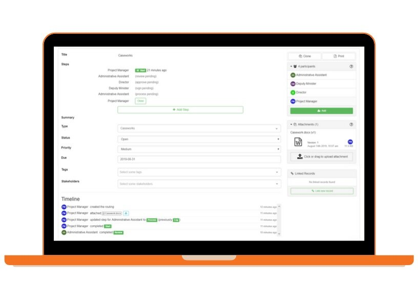 Proof's smart workflow management software empowers users to become forward-thinking innovative leaders -