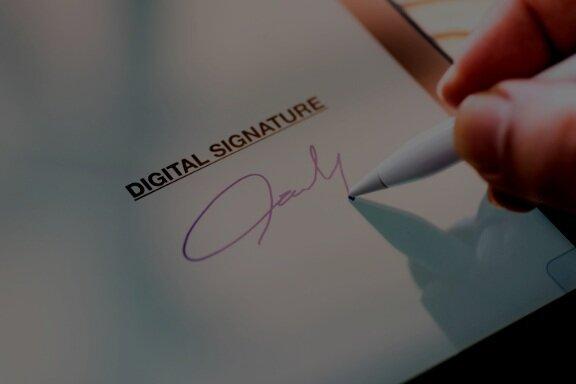 electronic signatures -