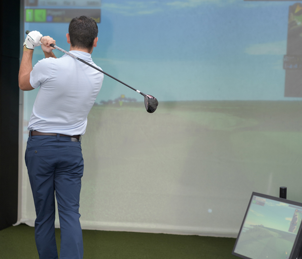 GOLF & BASEBALL SIMULATORS -