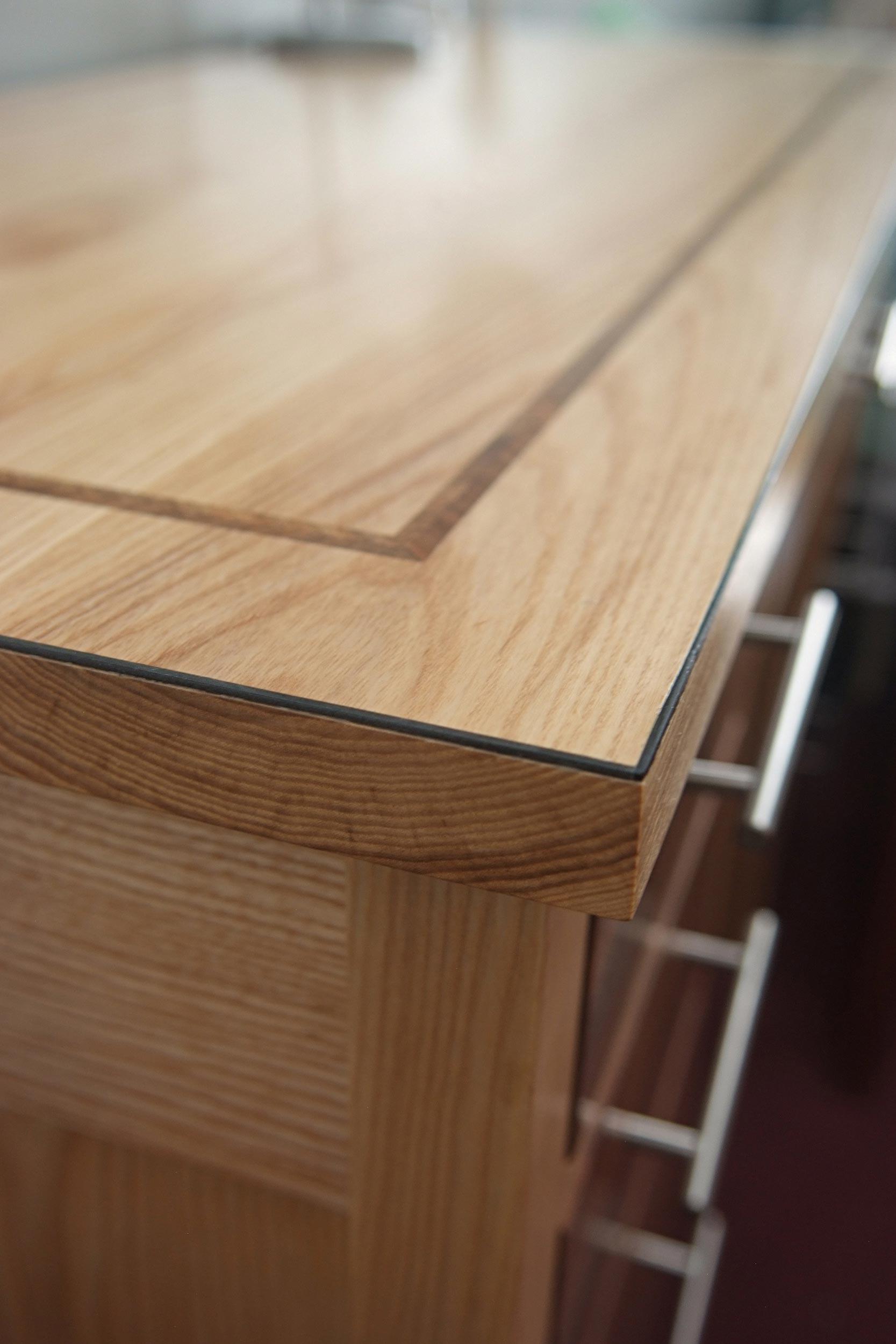 Ash Dressing Table & Stool