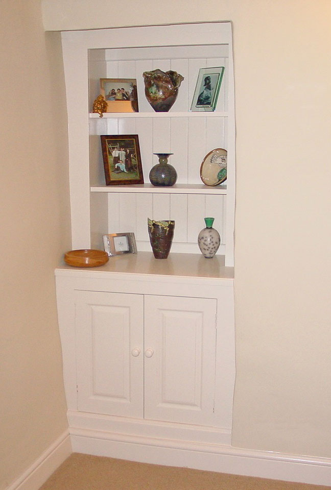 Painted Alcove Dresser