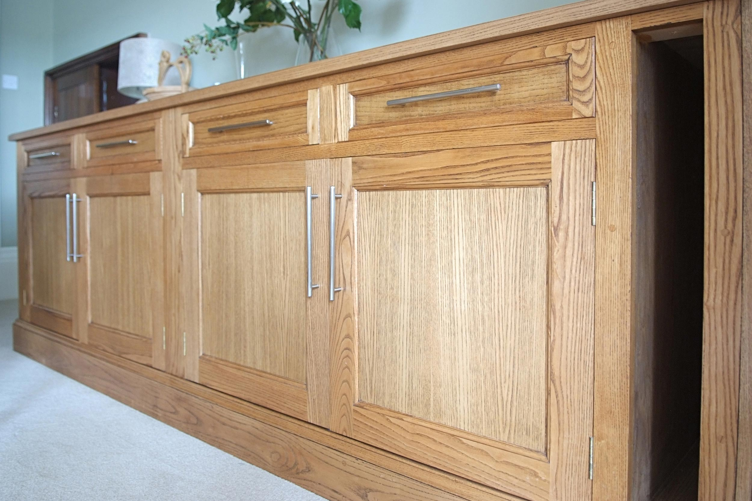 Stained Ash Sideboard