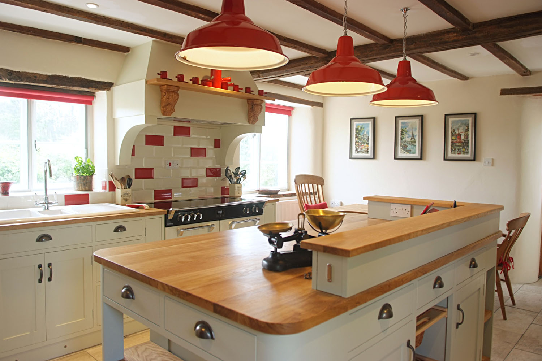 Painted & Oak Kitchen