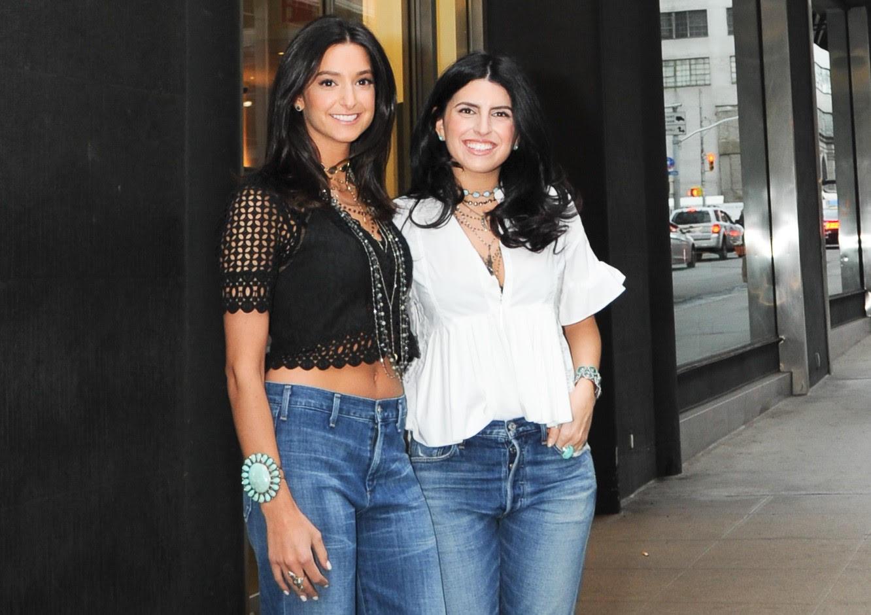 Tamar Hagopian and Pamela Mufson