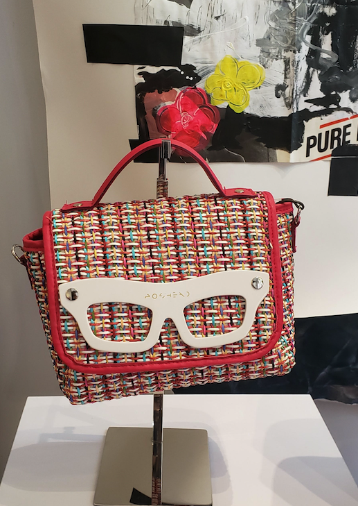 Poshead handbags utilize old eyewear fronts