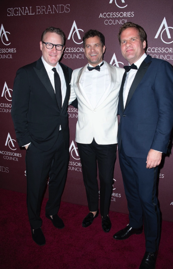 Todd Snyder, Joshua Jackson, and Tobias Reiss-Schmid