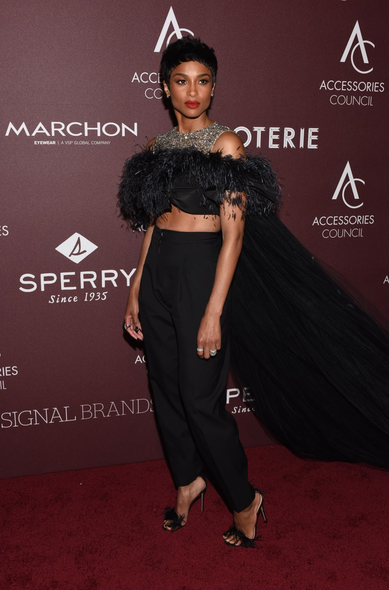 WHO: Ciara WHAT: Giambattista Valli WHERE: The 23rd Annual ACE Awards WHEN: June 10