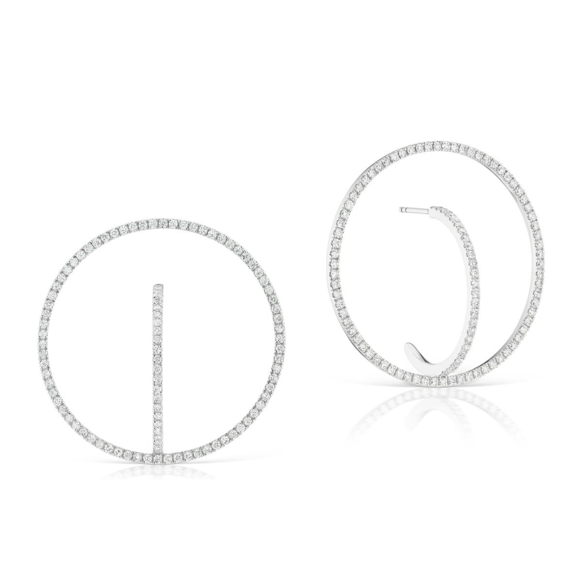 KBH Jewels - Diamond Magnum Orb Earrings