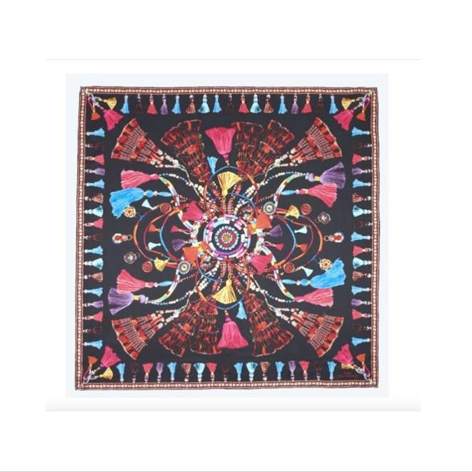 Echo - Tassel Rhapsody Silk Series Scarf