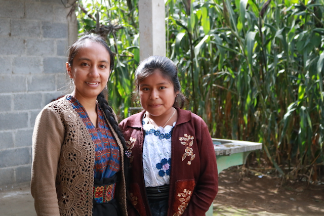 Ingrid with her mentor, Isabel; Photo by Yihemba Yikona