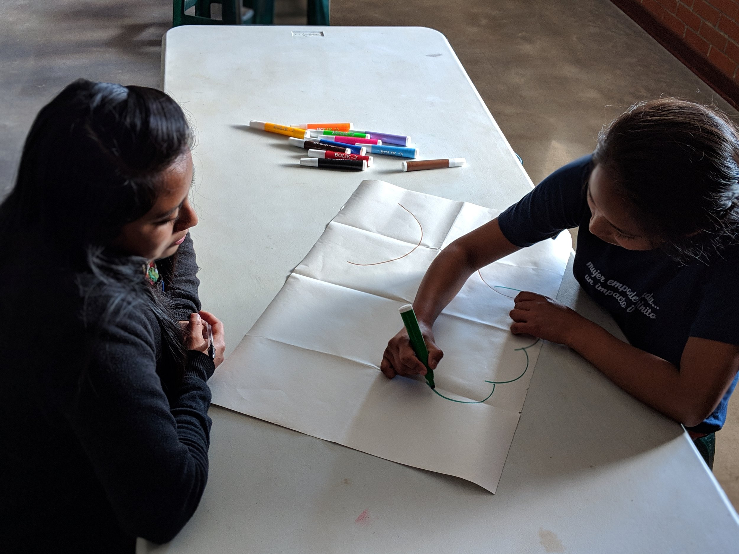 One on one mentorship at the MAIA Impact School
