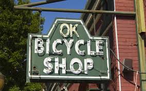 OK Bicycle shop is the exact location of the sole schwinn dealership in mobile. with a $400 war bond, the Tomberlin family opened the ok bicycle shop during world war i. The bicycle shop remained open until 1999. following the closing of the bicycle shop, brothers jim and woody walker reopened in the same SPOT. in an effort to preserve history they kept the name, the neon and continued to sell bicycles while converting the space into one of mobile's favorite dining and drink spots. with fare ranging from mexican to sushi (liquid lounge next door), the ok bicycle shop is sure to please the taste buds of most anyone.