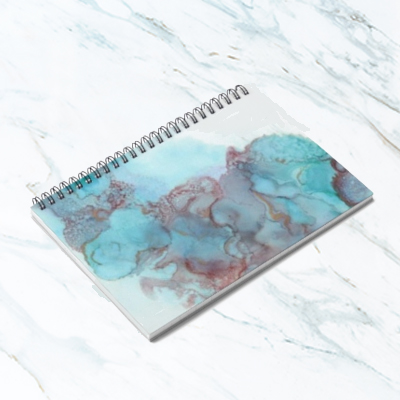Walking in the Sky Spiral Notebook -  $15