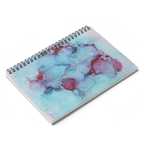 A Different Sky is Waiting Spiral Lined Notebook - $15