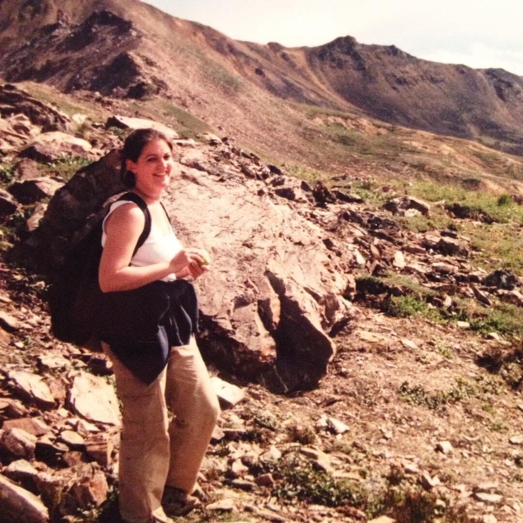 Hiking in Denali, Alaska. (2001)