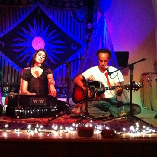 Our first   kirtan   together. (2011)