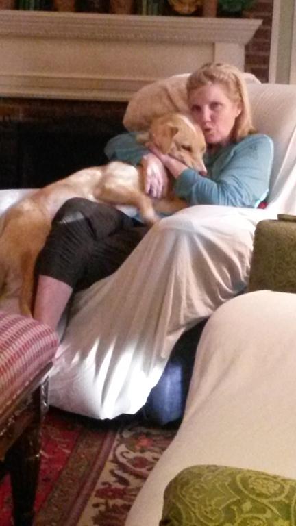 Brodi Loves his Mama