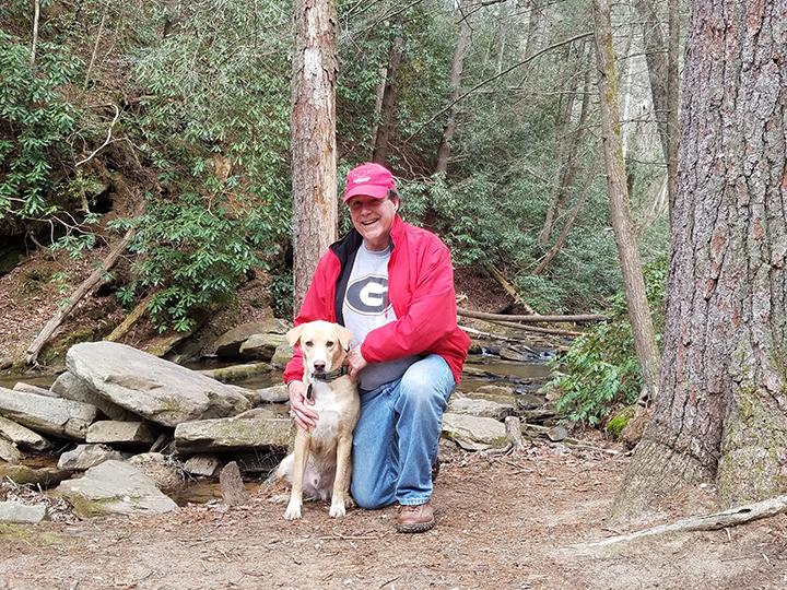 Brodi Loves to Hike