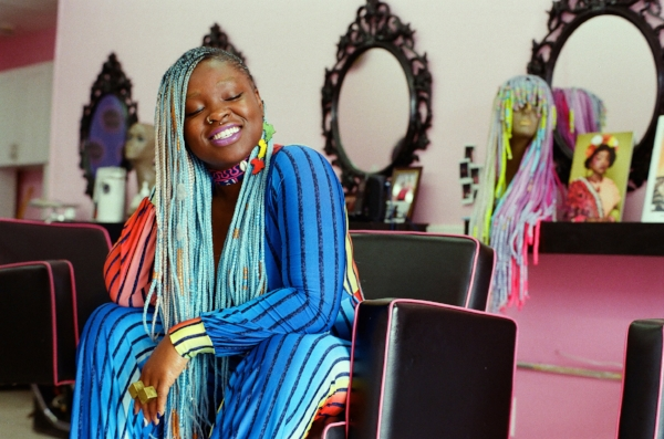 Susan Oludele, Owner of Hair By Susy salon in East New York, Brooklyn shoy by Dylan Forsberg
