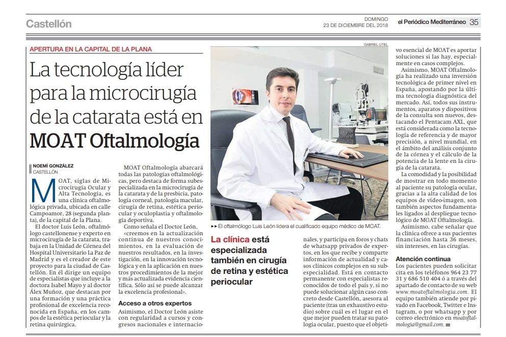 MOAT Oftalmología