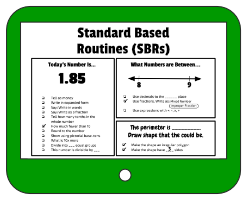 Standard Based Routines (SGRs) Examples and Sample Templates