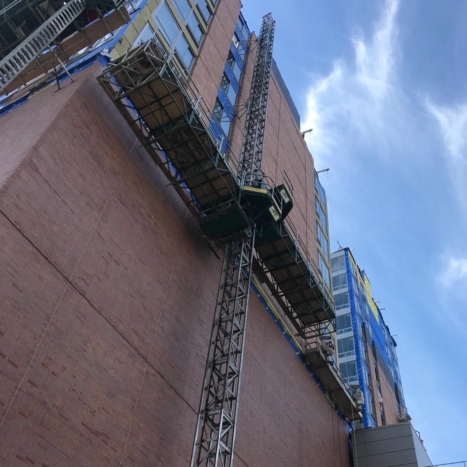 Hydro Mobile Mast Climbing Work Platforms -