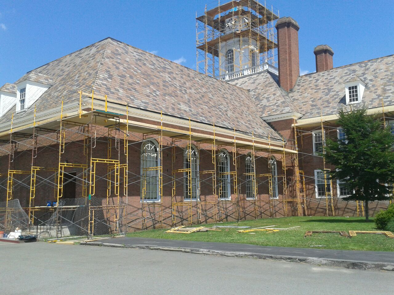 Jeffersonville School - Pipe Scaffold.jpg
