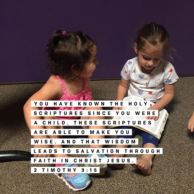 These little ladies discovered a treasure in AZV 🌟📖👧 #thebible #sharingiscaring #hiddenintheirhearts #azvk #azvkids #nextgen #scripturepower #godswordisawesome