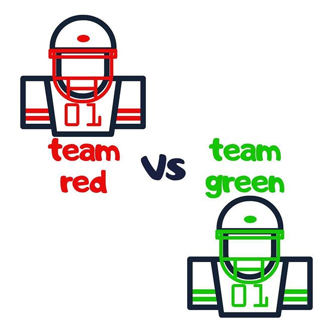 Are you Team Red or Team Green? Sport your team's colors (clothing, hair, accessories, etc.) on Sunday, 6/23 #azvkids #whichcolordoyoulike  #whatsyourstyle #azvk #teamred #teamgreen #kidminfun #i❤️kidmin