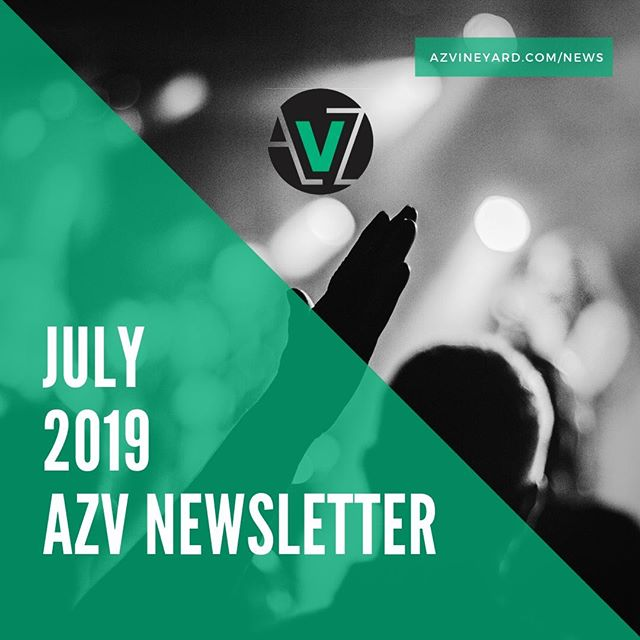 --THIS JUST IN--⁠ ⁠ With so many exciting things happening in the life of AZV, we want you to stay in-the-know! ⁠ ⁠ Our NEW Digital Newsletter for July is UP on the Website now! ⁠ ⁠ There are some SUPER exciting updates you won't want to miss! ⁠ ⁠ Visit the link in bio or visit azvineyard.com/news to check out these juicy announcements! ⁠ ⁠ ⁠ #YOUMATTER⁠ #AZVineyardChurch⁠ #GoodyearChurch