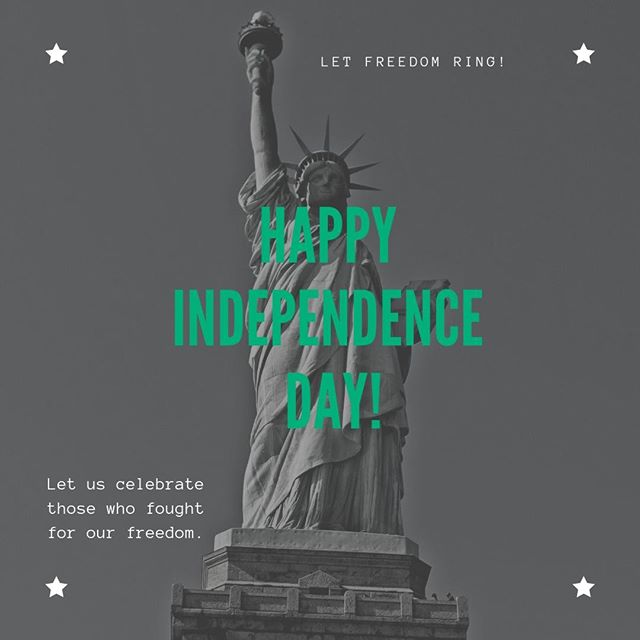 AZV wishes you and your family a happy and safe Independence Day! ⁠ ⁠ ⁠ ⁠ #YouMatter⁠ #GoodyearChurch⁠ #HappyIndependenceDay