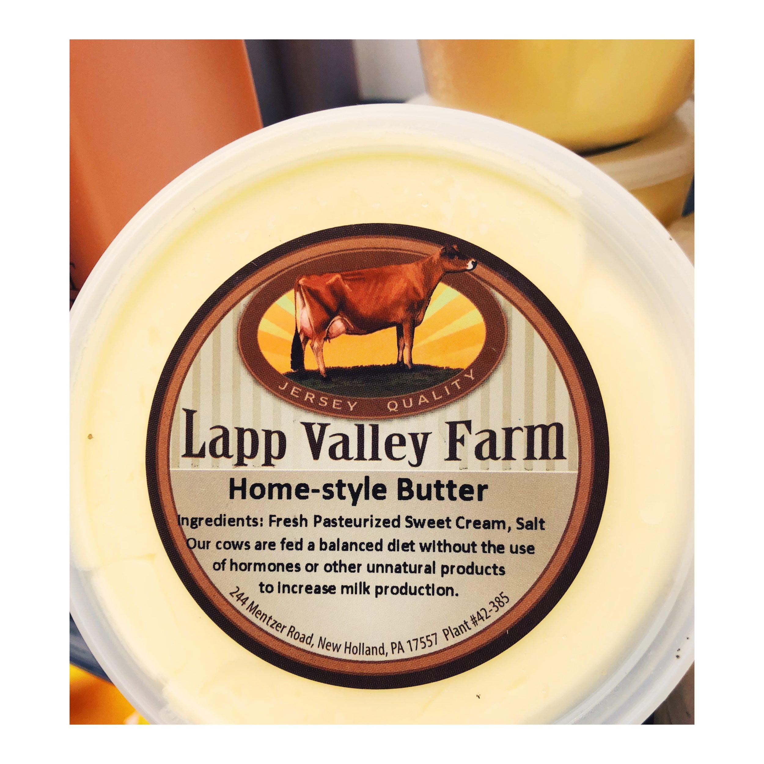 Jersey cow butter