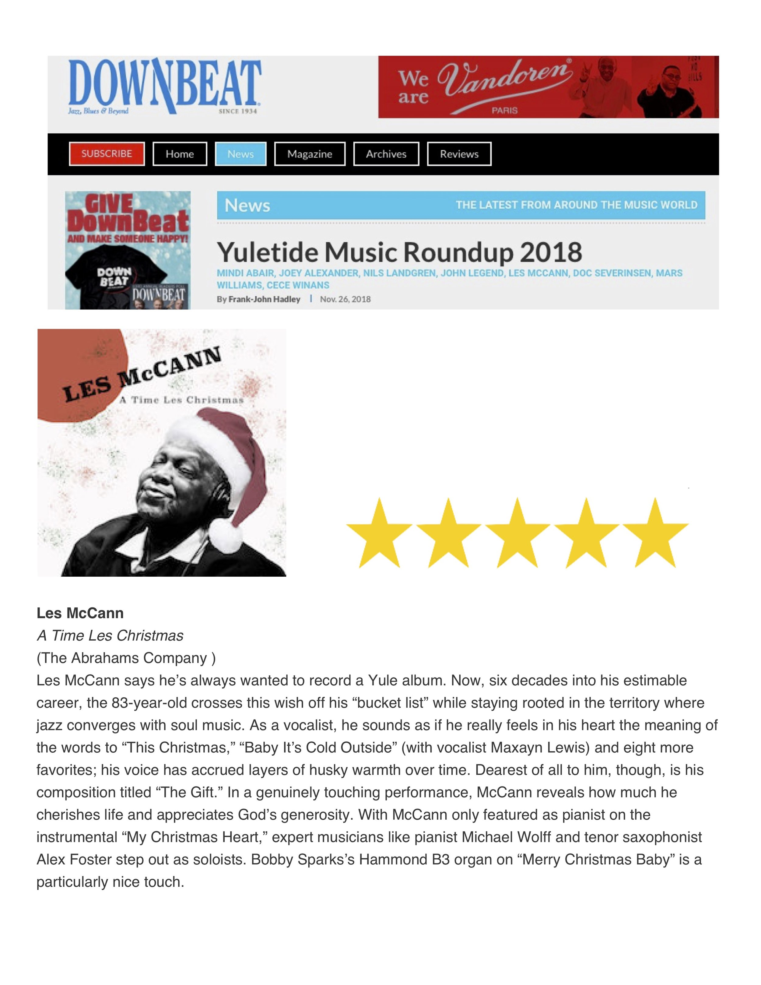 Les McCann Downbeat review.jpg