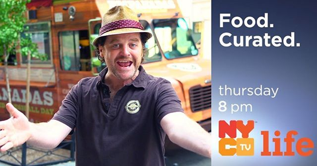 Calling all #NYC friends! Catch us on @foodcurated tomorrow night at 8pm on NYC Life (Ch 25) with @SkeeterNYC! #DifferentIsDelicious