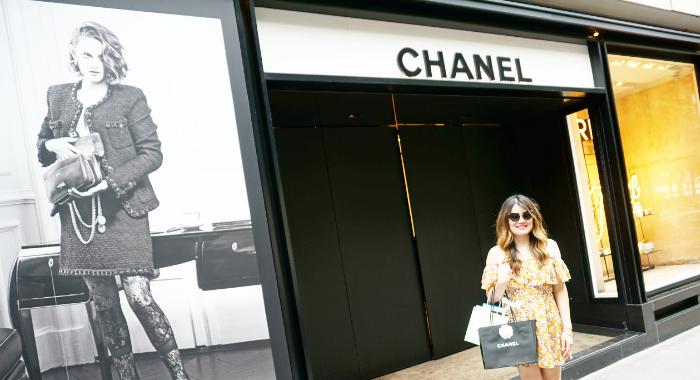At Chanel Paris Montaigne 42