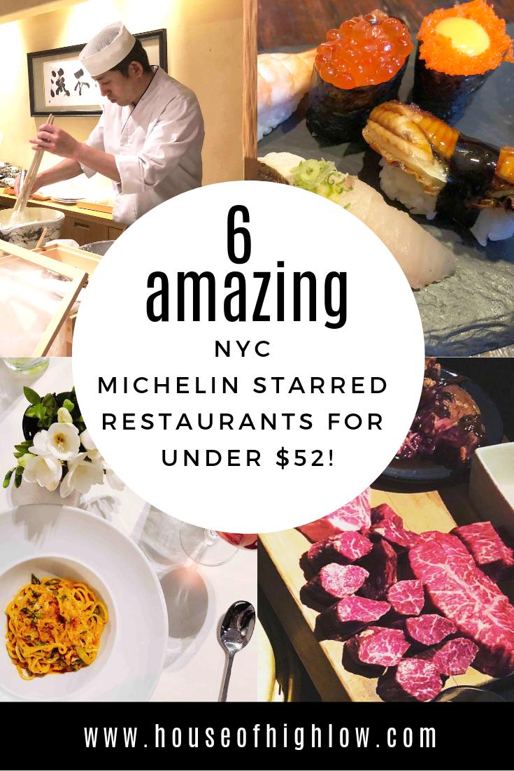 Michelin Restaurants - www.houseofhighlow.com