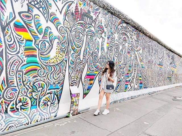Taking in 1.3km of the open-air gallery and the history of the Berlin Wall. #berlinwall #berlin #eastsidegallery