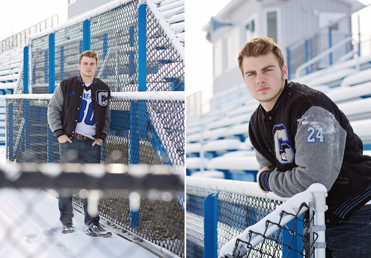Football Senior Session | Kelly Rhoades Photography