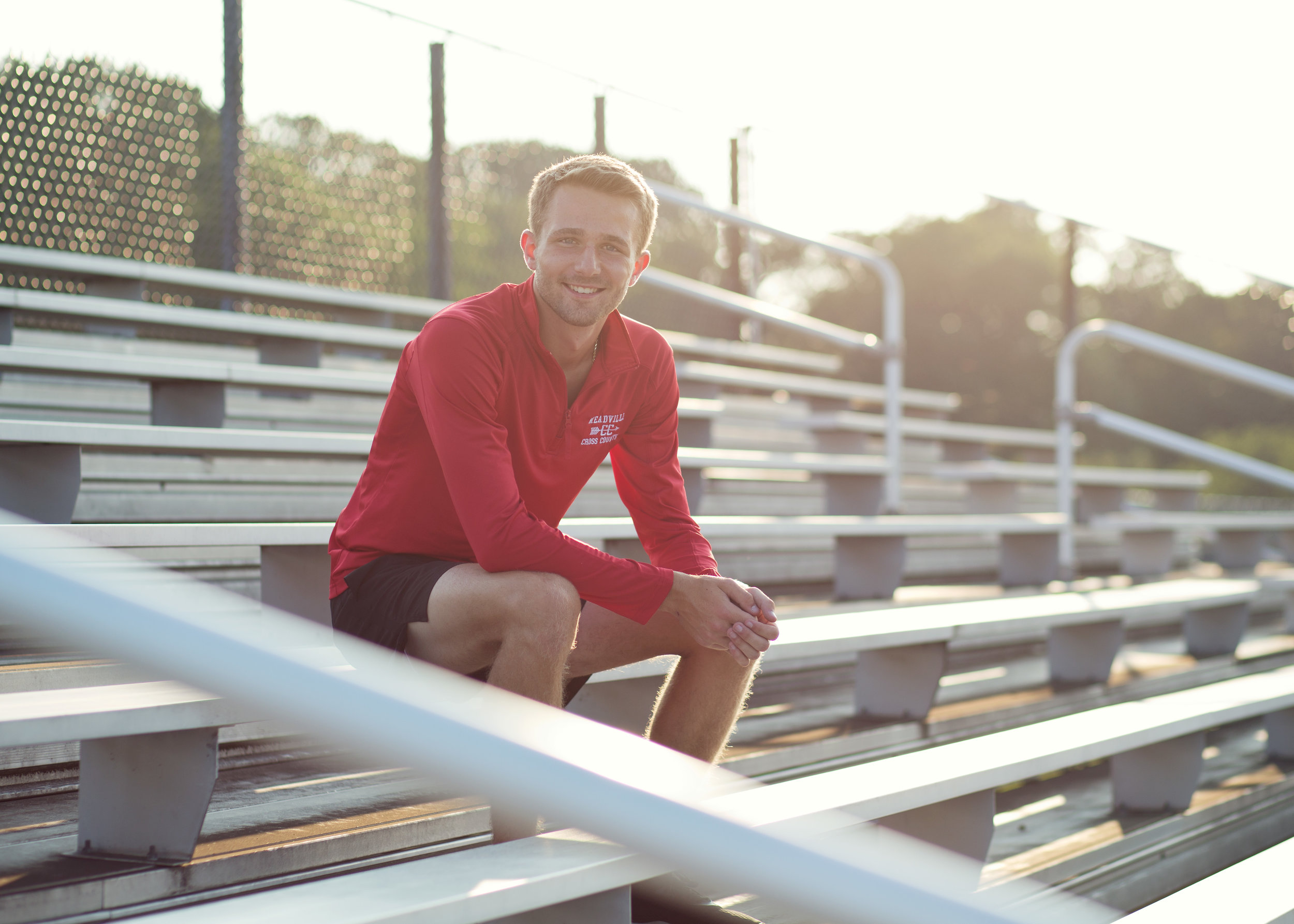 Cross Country Senior Session | Kelly Rhoades Photography