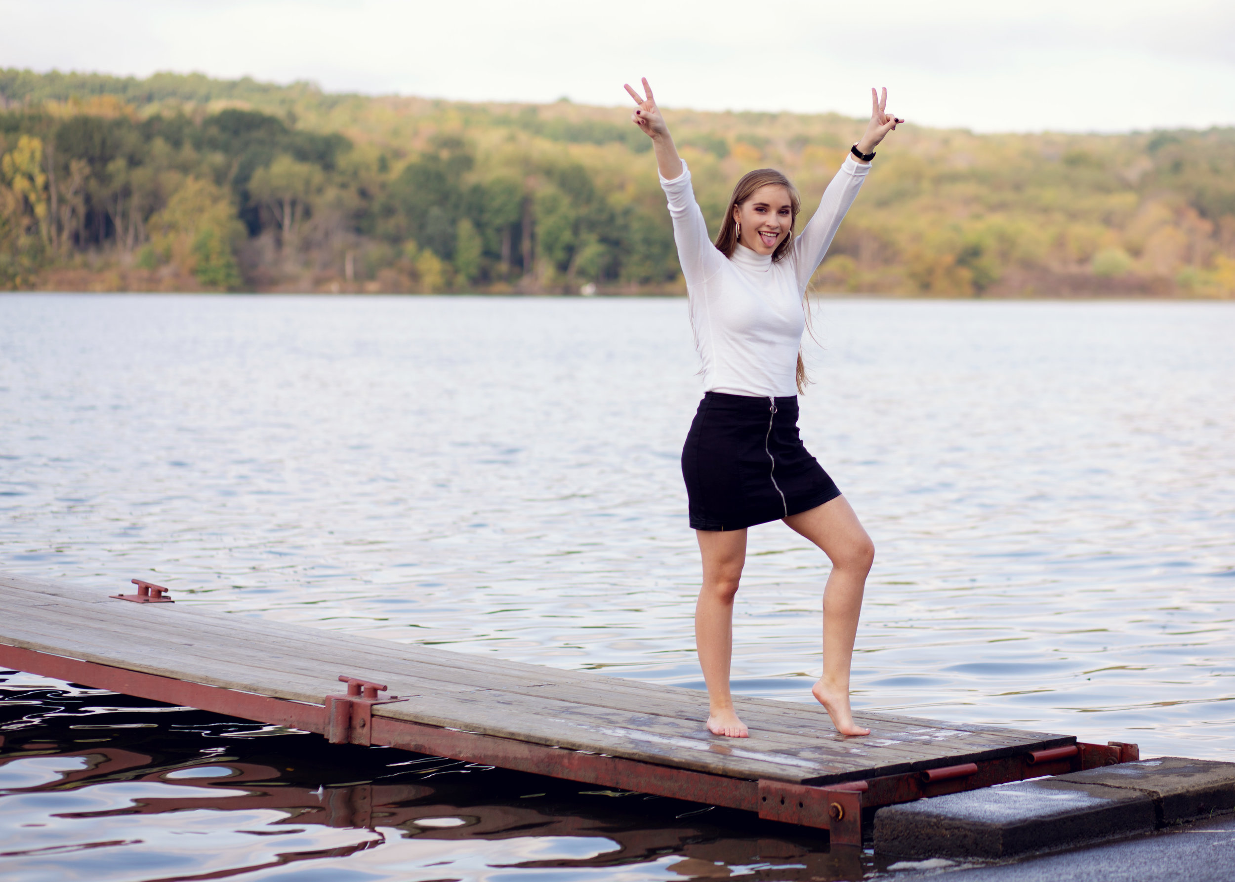 Fun Senior Session | Kelly Rhoades Photography
