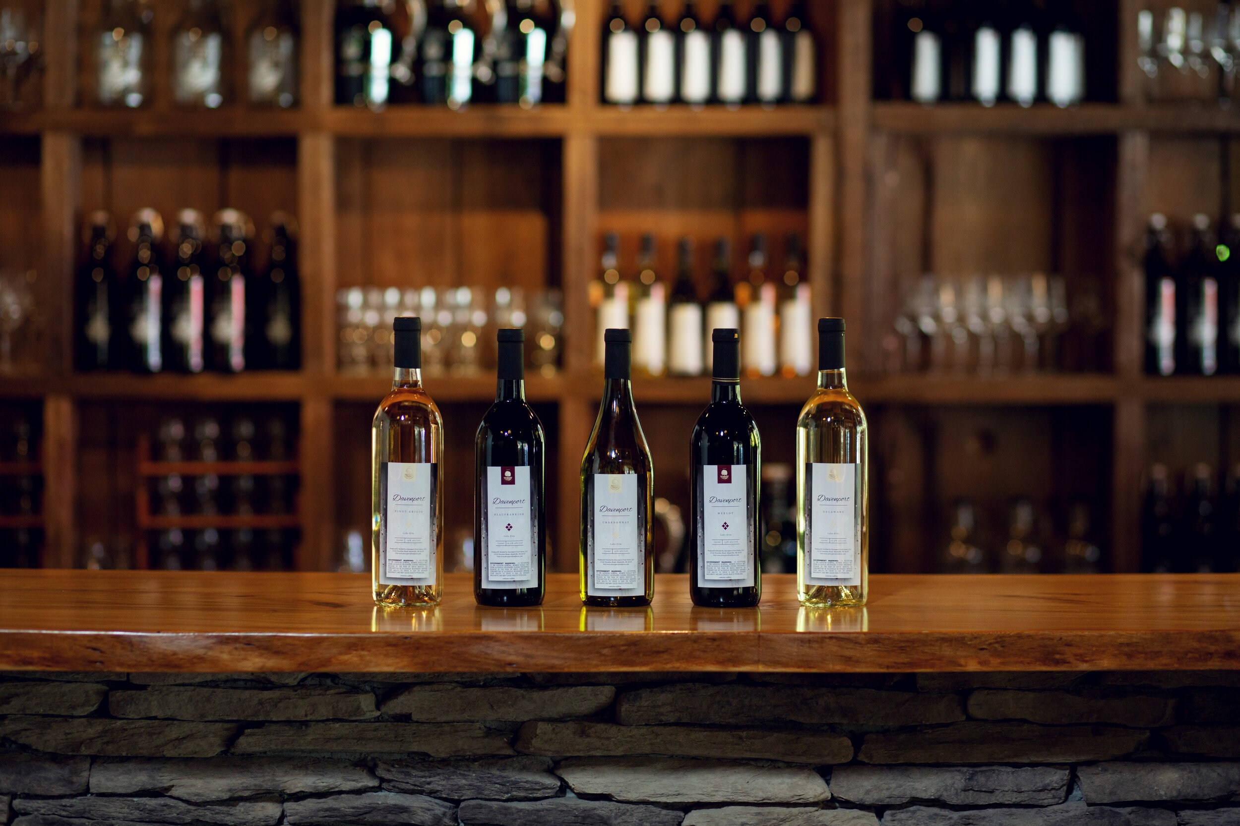Davenport Winery | Kelly Rhoades Photography