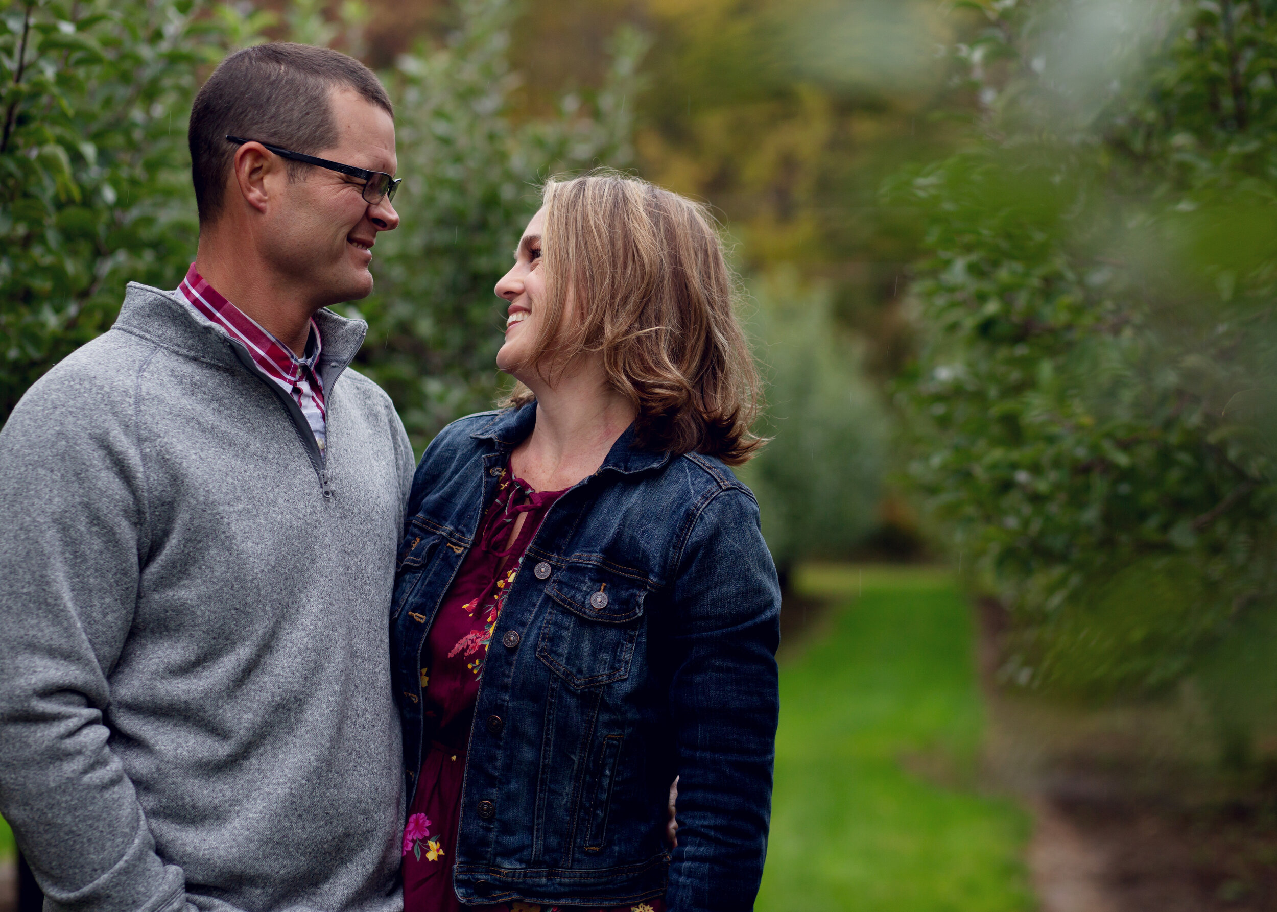 Fall Couples Session | Kelly Rhoades Photography