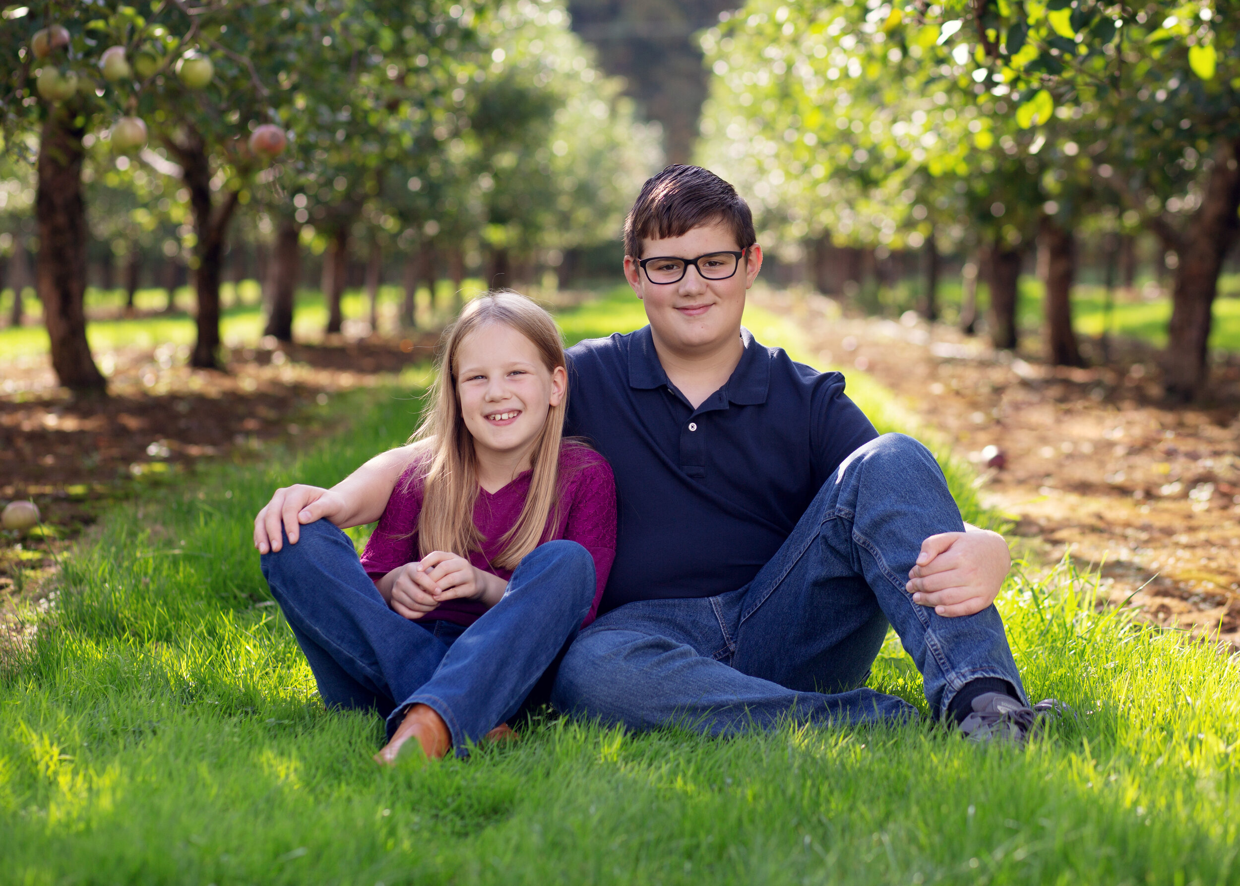 Sibling Picture | Kelly Rhoades Photography