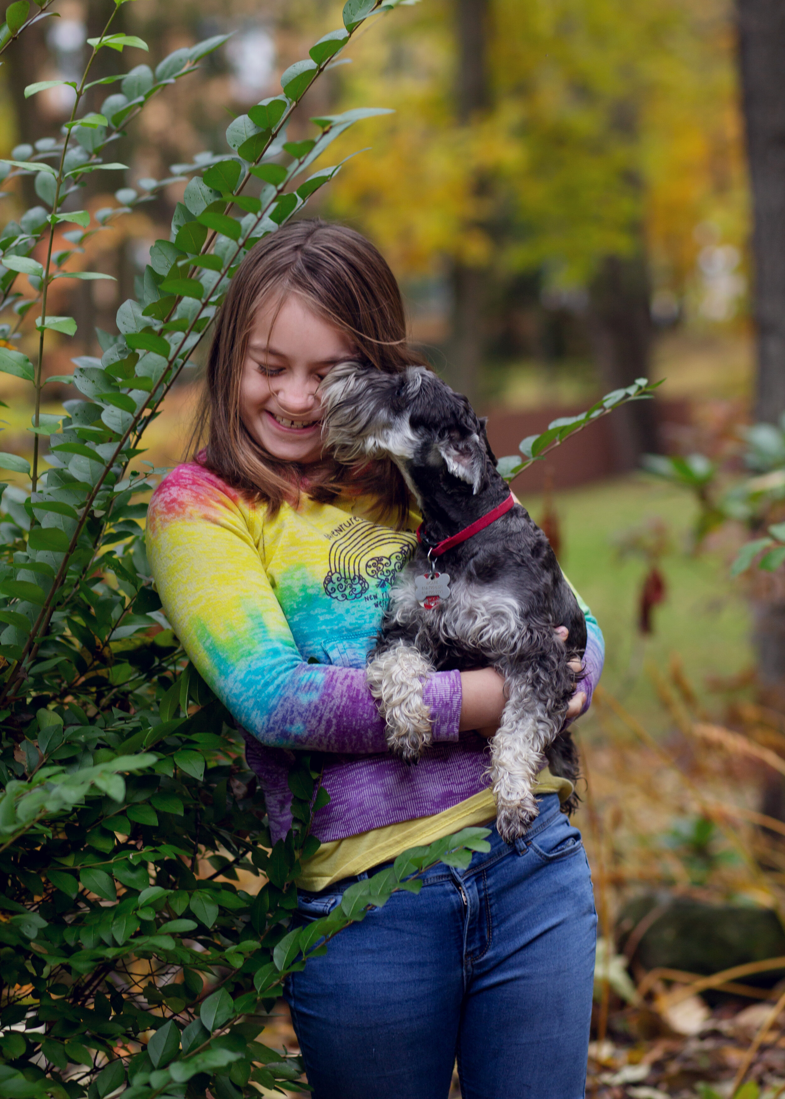 A Girl and Her Dog | Kelly Rhoades Photography