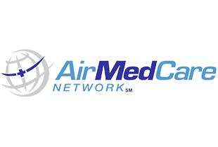 AIRMEDCARE NETWORK   The AirMedCare Network is an alliance of affiliated air ambulance providers – the largest of its kind in the United States. An AirMedCare Network membership automatically enrolls you in all the participating provider's membership programs, giving you membership coverage across a combined 38 state service area.    Website