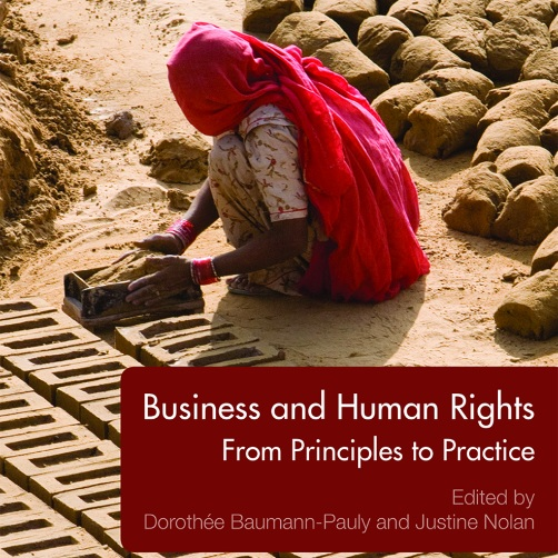 CHAPTER 4 OF OUR TEXTBOOK DISCUSSES THE ROLE OF MULTISTAKEHOLDER INITIATIVES IN SETTING INDUSTRY-SPECIFIC STANDARDS FOR HUMAN RIGHTS