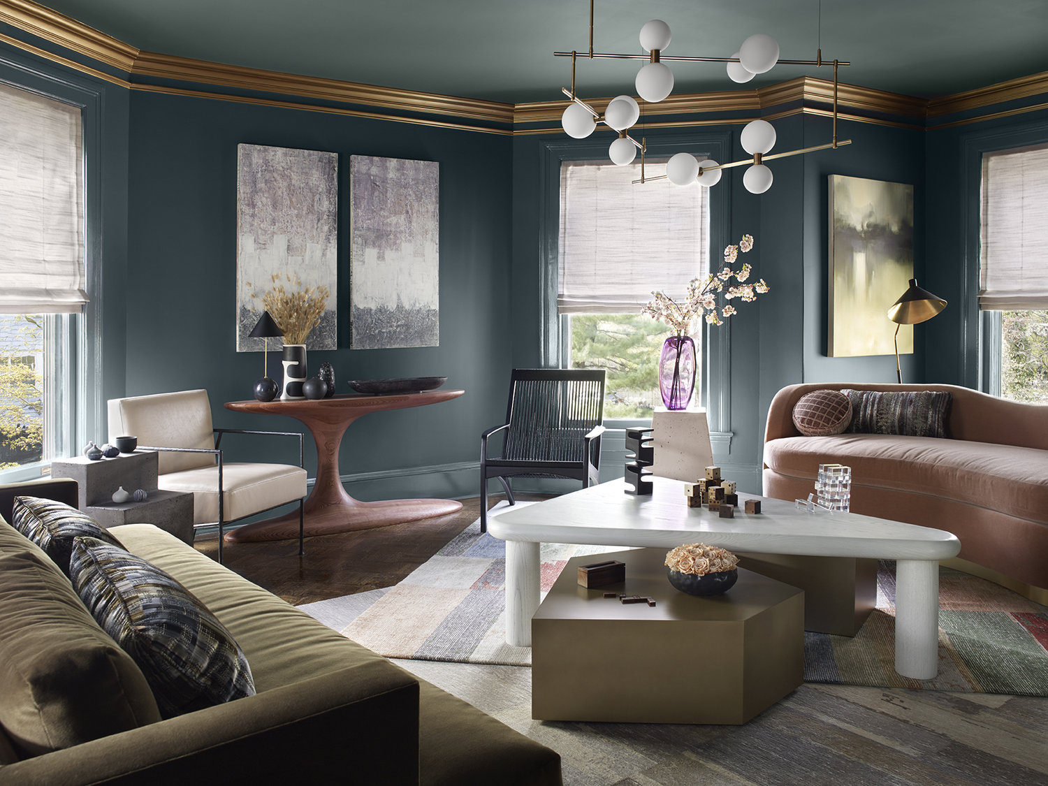 Tina Ramchandani Creative living room