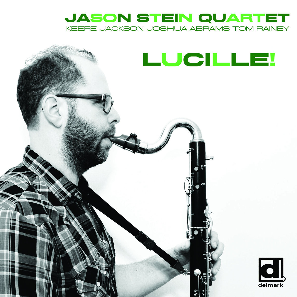 Album: Lucille! - Label: delmark recordsRelease date: 2017Jason stein (bass clarinet)keefe jackson (tenor saxophone)josh abrams (bass)tom rainey (drums)