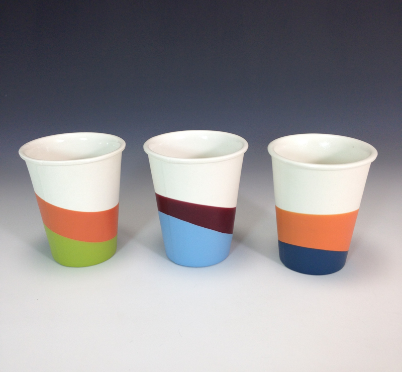 Rubber Paper Cups by Candy Relics. Photo courtesy of Candy Relics.